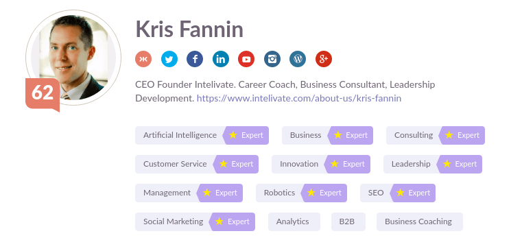 kris fannin social media influencer job search talent acquisition trends intelivate